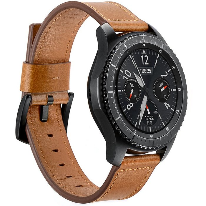 Ticwatch 1代  錶帶 真皮錶帶 頭層牛皮 刀尾款錶帶 智能手錶帶 22mm 時尚簡約