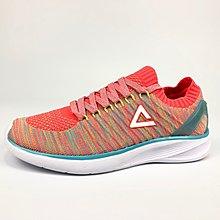 PEAK 慢跑鞋 襪套式設計 螢光紅 E72238H 女款 I22 亮禹體育PEAK台灣經銷商