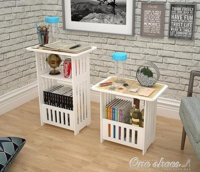 ZIHOPE 歐式簡易茶幾客廳陽臺休閒小方桌臥室床頭櫃迷你簡約小戶型圓桌子ZI812