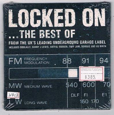 [鑫隆音樂]西洋CD-LOCKED ON THE BEST OF [634904013295] 全新/免競標