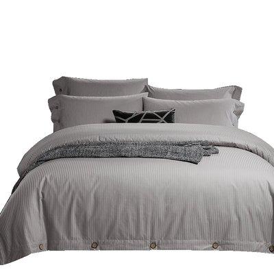 淘趣雜貨店/全棉被套單件純棉 五星級酒店床上用品緞條被罩單人雙人1.5m床(型號不同價格不同)