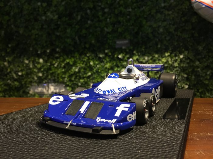1/18 Top Marques Tyrrell P34 1977 R.Peterson GP29A【MGM】