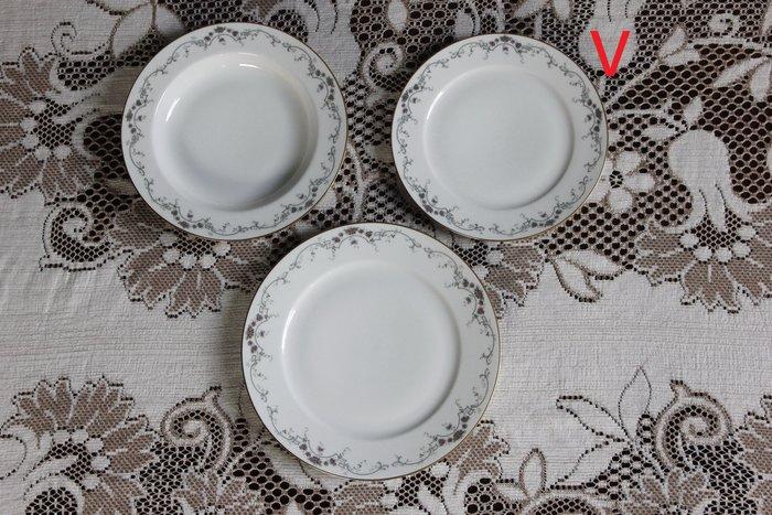德國 HUTSCHENREUTHER CM 小餐盤 瓷盤 歐洲古董老件(03_N-02-2)【小學樘_歐洲老家具】