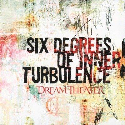 【預購】【黑膠唱片LP】SIX DEGREES OF INNER TURBULENCE / 夢劇場合唱團