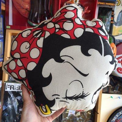 (I LOVE樂多) 日本進口 BETTY BOOP 貝蒂 雙面造型抱枕 靠枕 (A款)