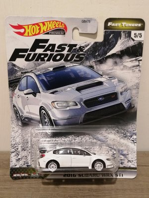 Fast Furious 玩命關頭系列 WRX 細緻小汽車