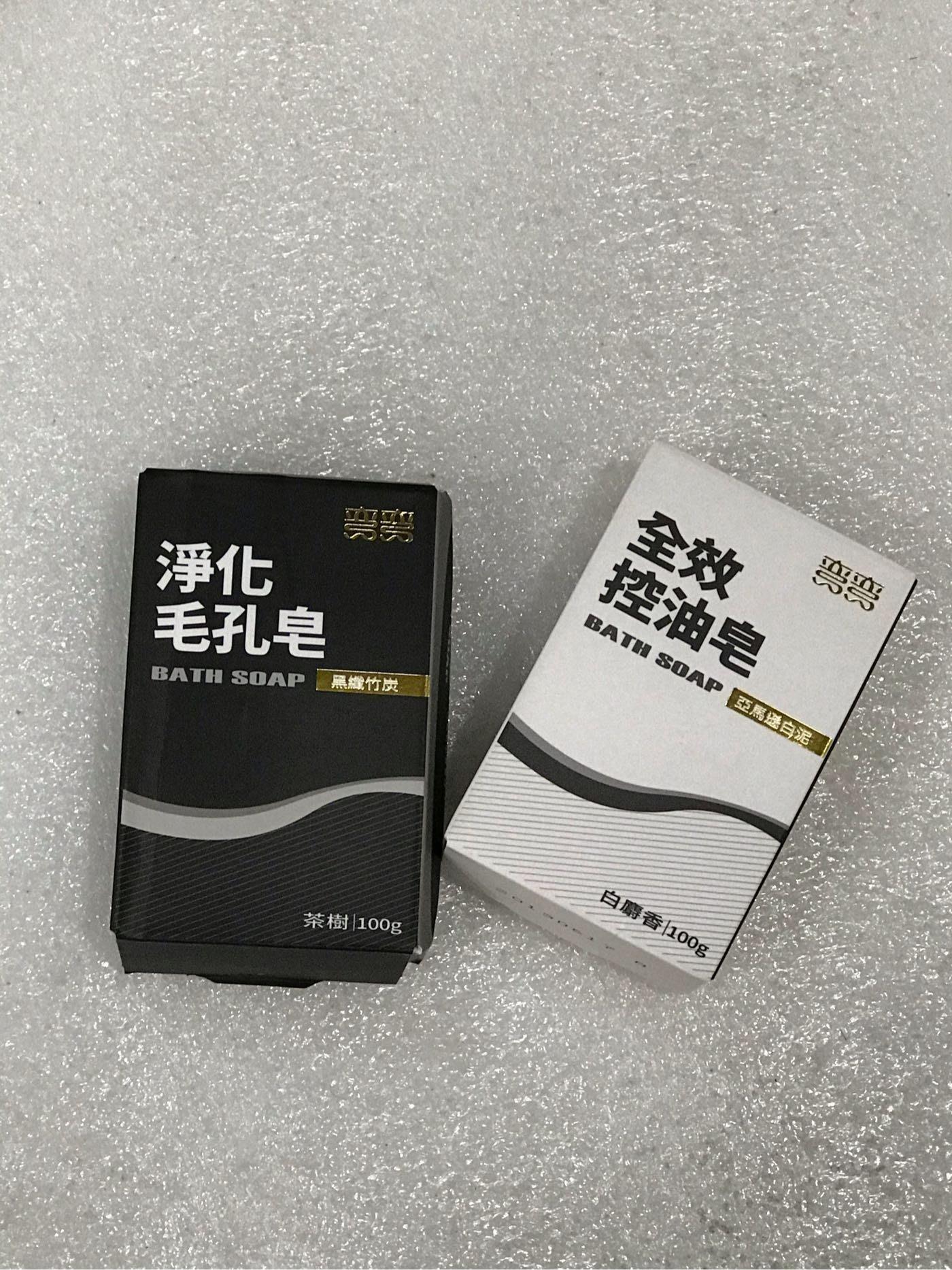 美琪彎彎淨化毛孔皂/全效控油皂 100g