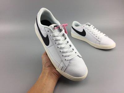 NIKE BLAZER LOW PRM 白黑 休閒運動 滑板鞋 454471-104 男女款