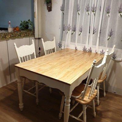 戀戀小木屋 溫莎椅 餐桌椅 一桌四椅