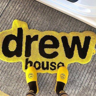 飛越潮流潮物Woo Drew House  Logo Rug 賈斯丁比伯快閃限定居家字母地毯