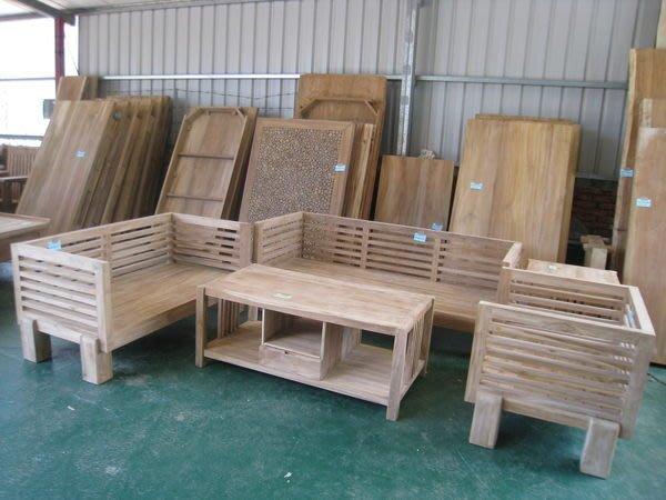 幸福家傢俱 歐式沙發[SOFA-JRF-22] ,全柚木,不含坐墊