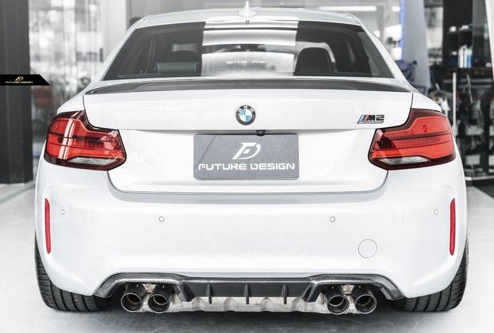 【政銓企業有限公司】BMW F87 M2C 小改款專用 M Performance 款 高品質抽真空 卡夢 後下巴 現貨