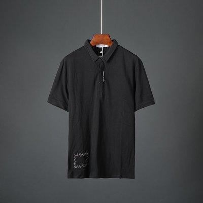 T恤 短袖 簡約 百搭 寬鬆夏季新款男士短袖t恤修身青年翻領潮流韓版男裝半袖上衣