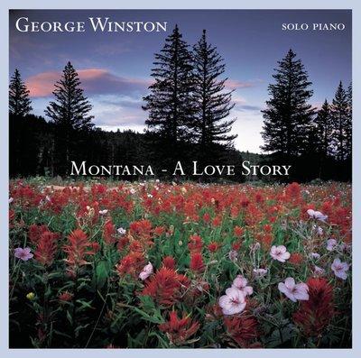 歐版CD喬治溫斯頓《蒙大拿》 /GEORGE WINSTON MONTANA A LOVE STORY全新未拆