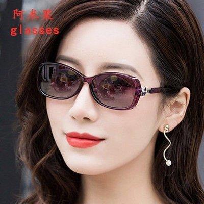 木林森2019新款太陽鏡女 小框 防藍光紫外線 女時尚墨鏡開車眼鏡 小臉