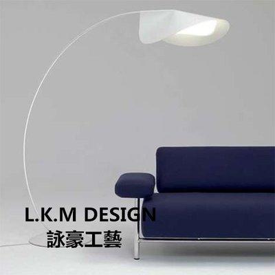 北歐護眼大釣魚燈Circled Floor lamp客廳高檔別墅設計師的落地燈