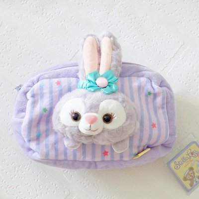 【便利公仔】含運 STELLALOU兔子星黛露化妝包史黛拉收納包毛絨立體兔頭手機包