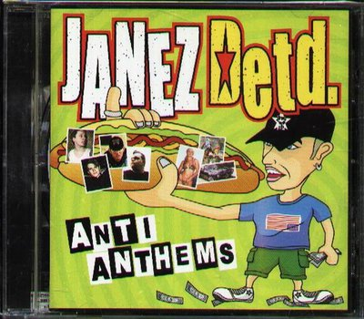 八八 - Janez Detd - ANTI ANTHEMS - 日版 CD+2BONUS