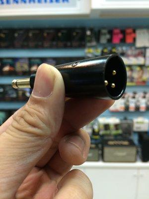 禾豐音響 高級鍍金 6.3mm 公 -...