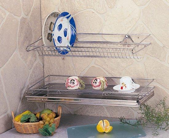 ☆成志金屬☆S-83-1B #304不銹鋼*大型*碗盤餐具置物架、瀝水架附不鏽鋼水盤