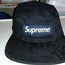 全新真品極罕黑色Supreme 帽 美國造