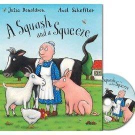 *小P書樂園* 【得獎童書】A Squash and a Squeeze 又窄又擠的房子 (CD有聲書)