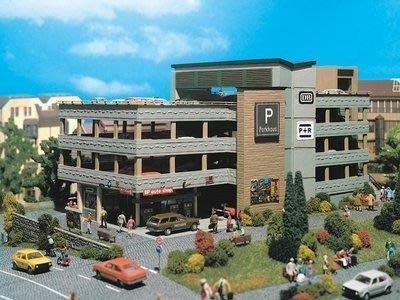 Vollmer 德國 房屋模型 HO 1/87 Parking Garage 停車場 (3804)
