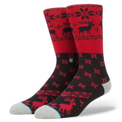 [ Satisfaction ] 美國品牌Stance襪子 經典紅黑麋鹿