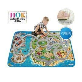 【魔法世界】《比利時 HOK》濱海城市可水洗柔軟遊戲墊