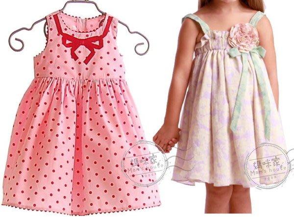媽咪家【AG035】AG35氣質洋裝 涼夏 背心洋裝 連身裙 A字裙 可當背心裙~80.90.100.110