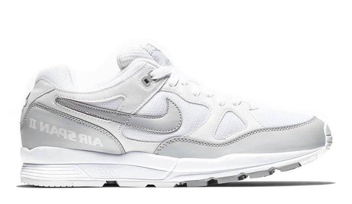 【Cheers】 Nike Air Span II AH8047-105 灰白 白灰 全白 限量 男鞋 米色 歐洲限定