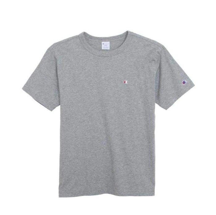 天使熊雜貨小舖~Champion T恤(灰)尺寸:L    全新現貨