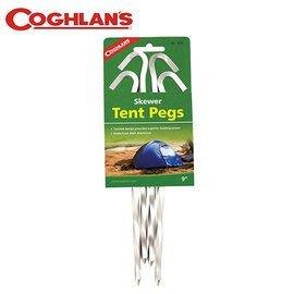 丹大戶外【Coghlans】加拿大 SKEWER PEGS 螺旋營釘 1009