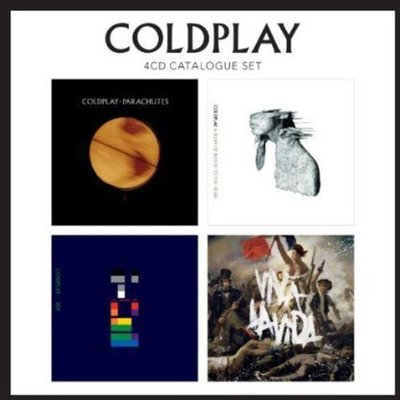 歐版4CD《酷玩樂團》4CD典藏套裝 /COLDPLAY Catalogue Set ( 4CD )全新未拆