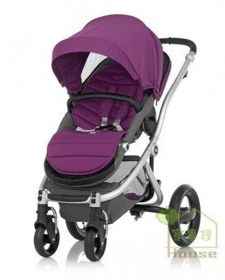 [ 家事達 ]  英國   Britax-Affinity 旗艦豪華型 雙向嬰兒手推車-紫色 特價
