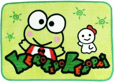 I2GO 愛二購 大眼蛙 KEROBI 腳踏墊 地墊 KR-0039