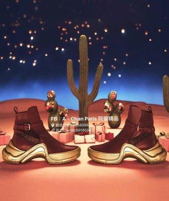 ~阿醬精品~巴黎直送Louis Vuitton全球搶先上市全新皮革新款Archlight  🇫🇷炙熱新款尋找灰姑娘(台灣現貨量身玻璃鞋尺寸 35號一雙‼️)