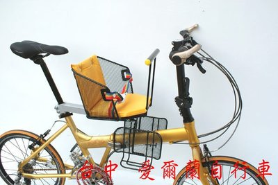 【IRLAND】安全 兒童椅 護網 變身親子車 前後都可以 安裝 折疊車 淑女車 登山車 愛爾蘭自行車