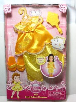 愛卡的玩具屋㊣迪士尼My First經典童話公主模擬手抱娃娃 美女與野獸 貝兒公主服飾