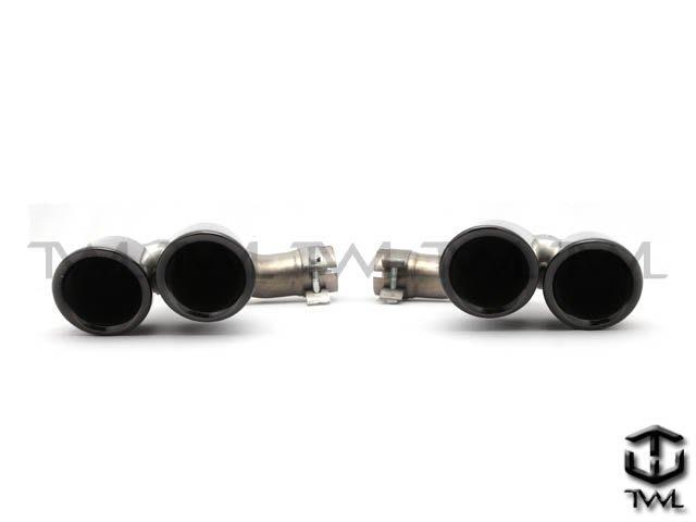 《※台灣之光※》全新PORSCHE保時捷新凱燕20 19年CAYENNE E3升級雙圓管白鐵尾管黑色款