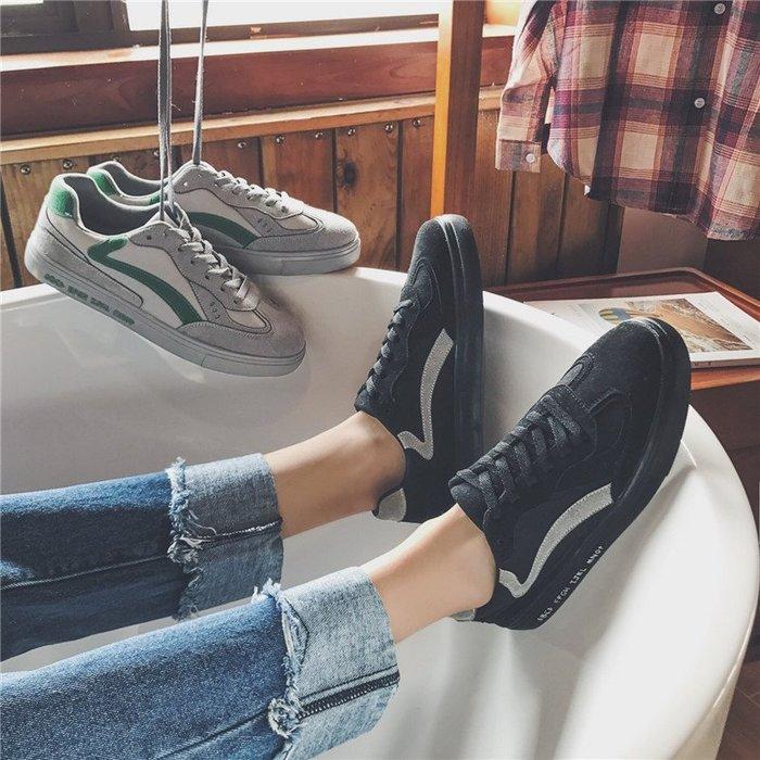 日系休閒鞋【ZOWOO-M0071】11月秋冬 韓版滑板鞋小白鞋帆布鞋 街頭潮流 非superdry日本adidas