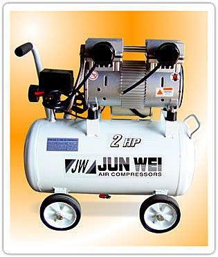 ㊣宇慶S舖㊣竣幃牌 2HP 24L無油式靜音 JW-2025N 空壓機/空氣壓縮機/風車/打氣機 送風槍.風管