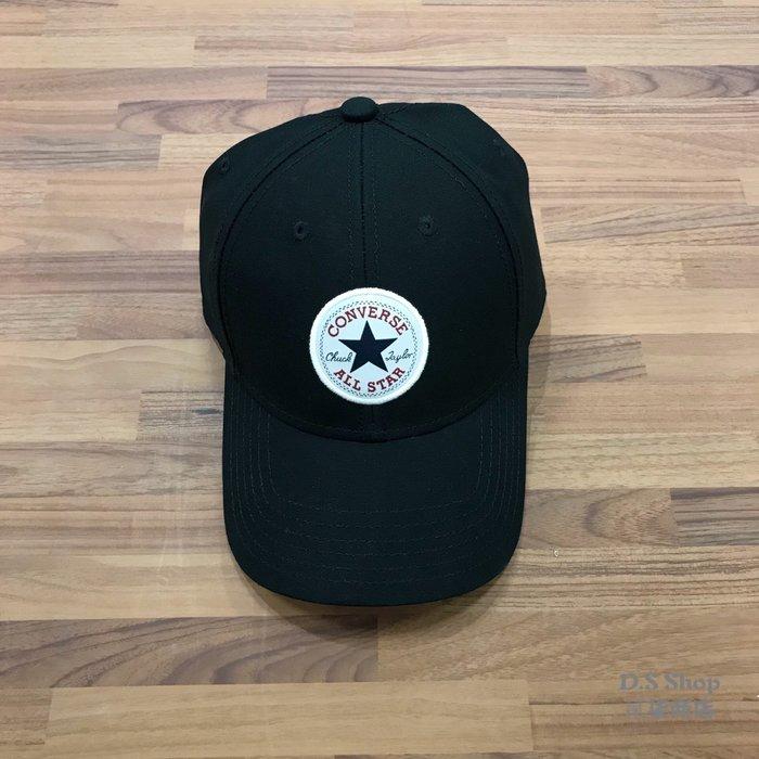 (D.S) Converse All Star Logo Cap 黑色 基本款 經典 老帽 10005221-A01