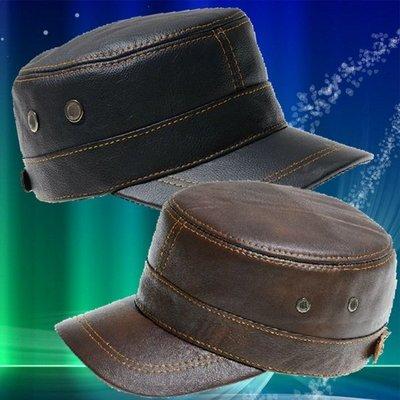 高檔牛皮軍帽   內褲 運動褲 泳褲 三角 四角 羊皮帽 棒球帽 鴨舌帽 牛皮帽 老帽