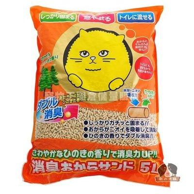 【寵物王國-貓館】Super Cat 超級大頭貓豆腐砂5L