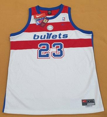 Nike Bullets #23 Jordan Swingman Jersey 喬丹 子彈 巫師 公牛 球衣
