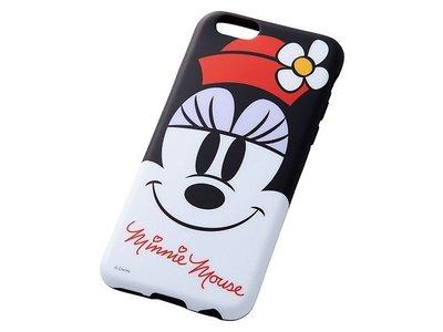 尼德斯Nydus~* 日本 迪士尼 米老鼠 米妮 Minnie 軟殼 手機殼 大臉款 4.7吋 iPhone6