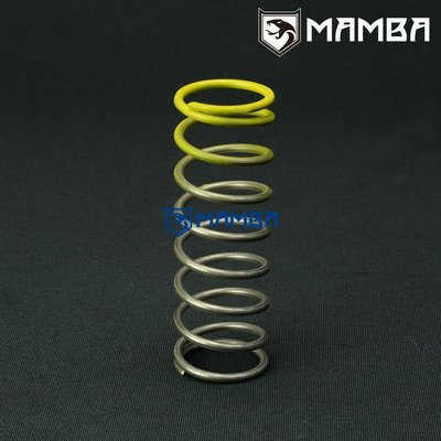 MAMBA 50mm BOV Blow Off Valve Spring -12 Psi / Yellow Color