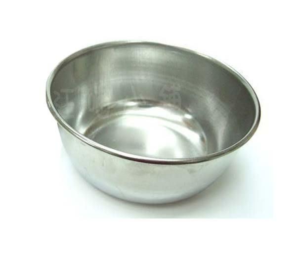 ☆汪喵小舖2店☆ 狗狗、犬貓專用白鐵碗4號半深碗 //  幼犬、貓、兔子、天竺鼠、蜜袋鼯適用