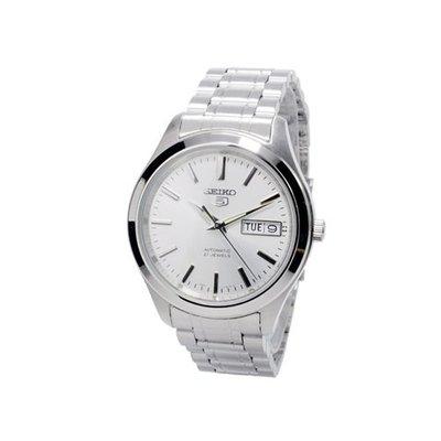 SEIKO錶  精工錶盾牌5號  自動錶. 標準紳士機械錶 SNKE49K1 SNKM41K1-銀色面